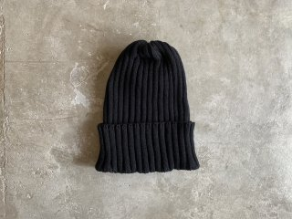 <img class='new_mark_img1' src='https://img.shop-pro.jp/img/new/icons8.gif' style='border:none;display:inline;margin:0px;padding:0px;width:auto;' />cotton rib knit cap / BLACK