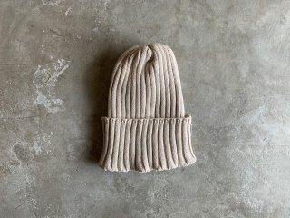 <img class='new_mark_img1' src='https://img.shop-pro.jp/img/new/icons8.gif' style='border:none;display:inline;margin:0px;padding:0px;width:auto;' />cotton rib knit cap / BEIGE