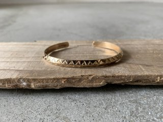 Navajo 12KGF BANGLE W5.5