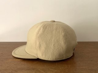 cotton linen bb cap / BEIGE