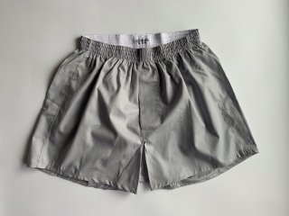 cotton boxer shorts / GREY
