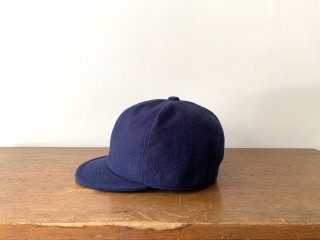 kid's cotton linen bb cap /NAVY