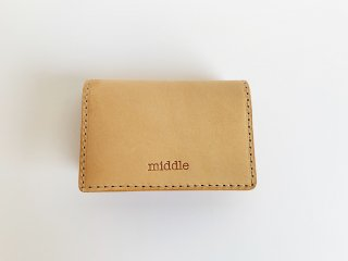 <img class='new_mark_img1' src='https://img.shop-pro.jp/img/new/icons8.gif' style='border:none;display:inline;margin:0px;padding:0px;width:auto;' />leather card case  / TAN