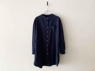<img class='new_mark_img1' src='https://img.shop-pro.jp/img/new/icons8.gif' style='border:none;display:inline;margin:0px;padding:0px;width:auto;' />flannel grandpa shirt /  NAVY