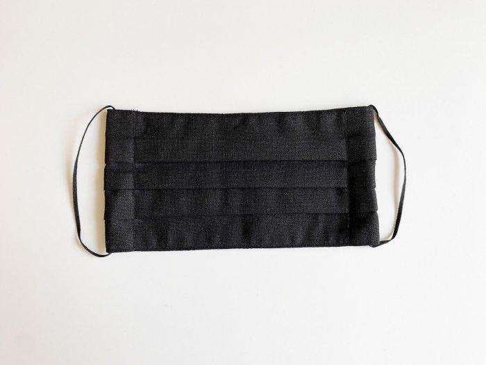linen mask / BLACK