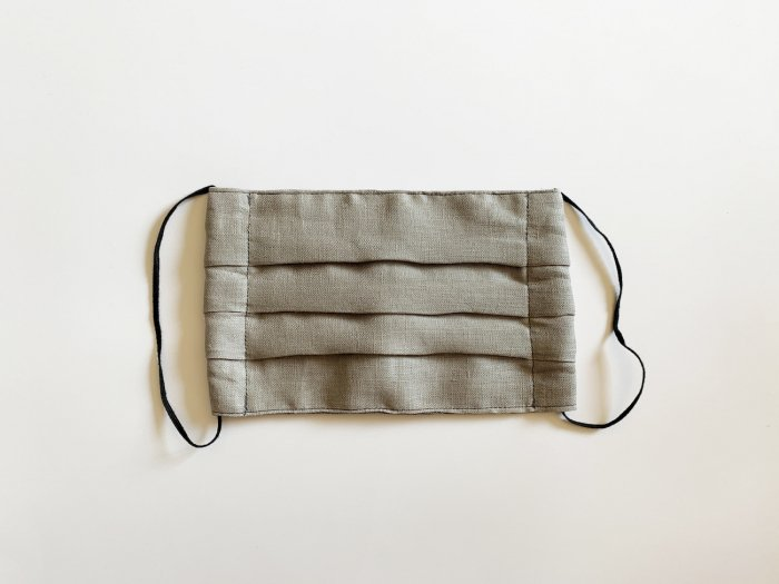 linen mask / GREY