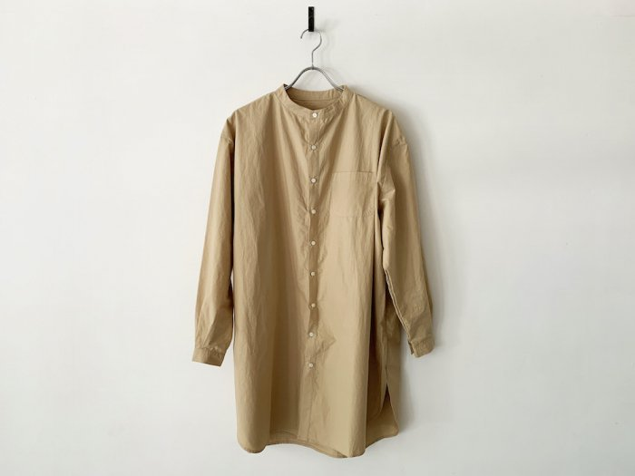 hcd cotton grandpa shirt /  BEIGE