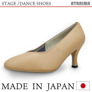 ステージシューズ ダンスシューズ 女性モダンシューズ【ベージュ】【日本製】【本革】【7cmヒール】【キャラクターシューズ、社交ダンス、舞台、ピアノ、演奏、合唱】<img class='new_mark_img2' src='https://img.shop-pro.jp/img/new/icons61.gif' style='border:none;display:inline;margin:0px;padding:0px;width:auto;' />