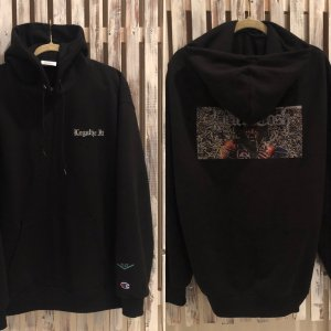 Stepping Razor Legalize It champion hoodie(バックプリント有)