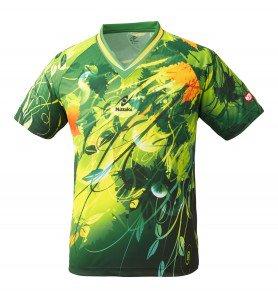 スカイリーフシャツ