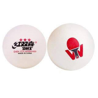 紅双喜 卓球ワールドツアー2019 国際公認球  3スターボール 1球(2019 ITTF World Tour T.T. D40+ 3 Stars Ball)