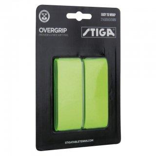 【STIGA】グリップテープ ネオングリーン (OVERGRIP GREEN)