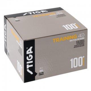 【STIGA】トレーニングボール 40+ 100個入り(TRAINING 40+ 100 PCS)