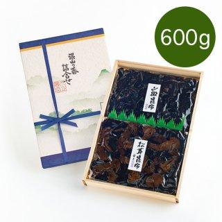 【640g】山椒昆布・松茸昆布 二色詰合せ
