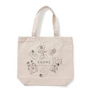 格言 ALL STARS TOTE BAG【WHITE】