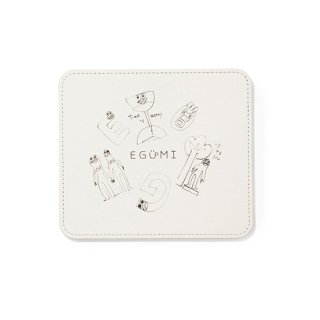 格言 ALL STARS MOUSE PAD【WHITE】
