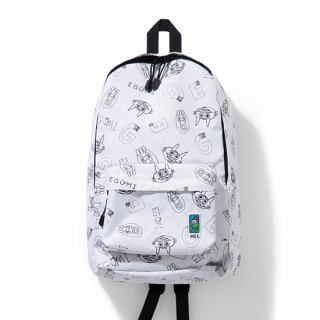 EGUMI x MEI BACKPACK【WHITE】