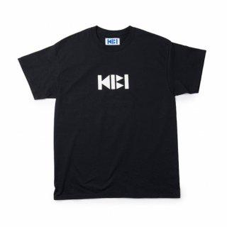 KIBI LOGO S/S TEE【BLACK】