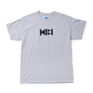 KIBI LOGO S/S TEE【GRAY】