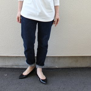 ordinary fits<BR>5POCKET ANKLE DENIM one wash