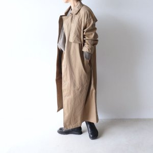 <img class='new_mark_img1' src='https://img.shop-pro.jp/img/new/icons13.gif' style='border:none;display:inline;margin:0px;padding:0px;width:auto;' />TISSU<BR>HIGH DENSITY EFFORTLESS TRENCH(2019.12月再入荷待ちです)