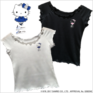 「K-BALLET×ハローキティ」Tシャツ<img class='new_mark_img2' src='//img.shop-pro.jp/img/new/icons1.gif' style='border:none;display:inline;margin:0px;padding:0px;width:auto;' />