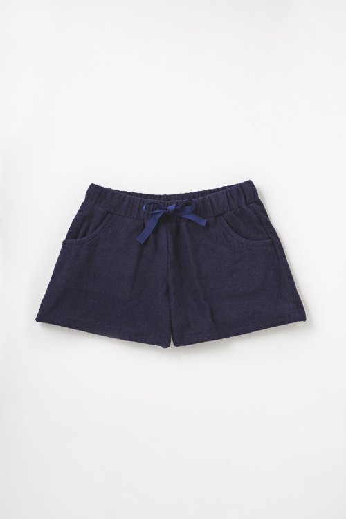 FIDES × THING FABRICS SHORT PILE SHORTS WOMEN