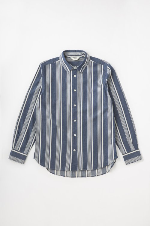 HIGH-DENSITY TWILL DENIM SHIRT