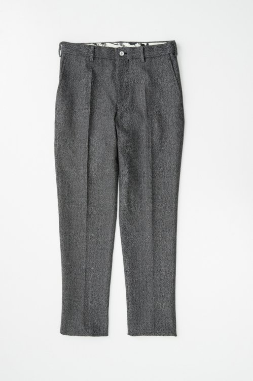 HARRINGBONE STRETCH PANTS