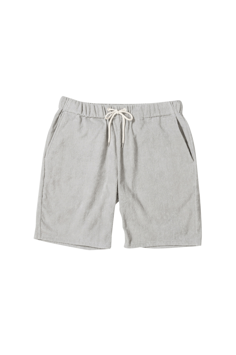 <img class='new_mark_img1' src='https://img.shop-pro.jp/img/new/icons56.gif' style='border:none;display:inline;margin:0px;padding:0px;width:auto;' /><FIDES × THING FABRICS>SHORT PILE SHORTS
