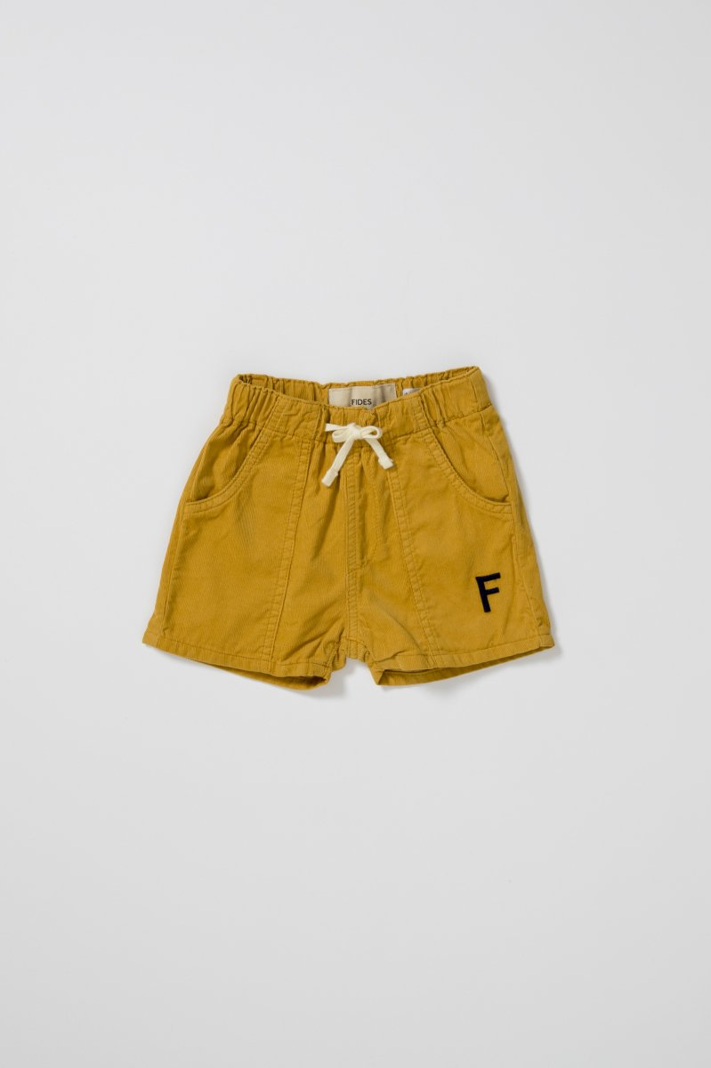 <img class='new_mark_img1' src='https://img.shop-pro.jp/img/new/icons5.gif' style='border:none;display:inline;margin:0px;padding:0px;width:auto;' /><FIDES × 6°vocaLe> CORDUROY SHORTS KIDS