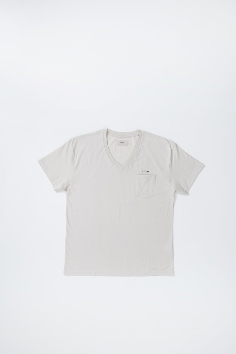 ORIGINAL ORGANIC LOGO POCKET  V S/S