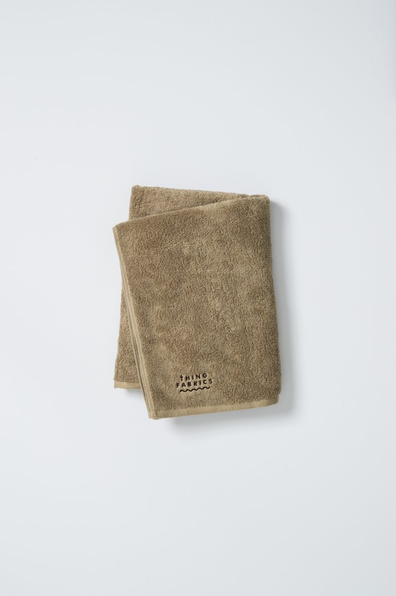 THING FABRICS FIDES別注 BATH TOWEL