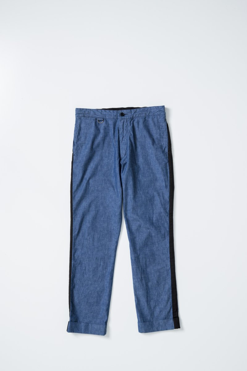 <img class='new_mark_img1' src='https://img.shop-pro.jp/img/new/icons5.gif' style='border:none;display:inline;margin:0px;padding:0px;width:auto;' />SIDELINE DENIM EASYPANTS
