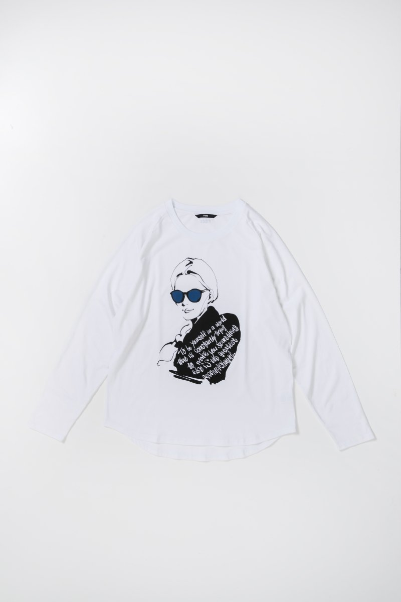 <img class='new_mark_img1' src='https://img.shop-pro.jp/img/new/icons56.gif' style='border:none;display:inline;margin:0px;padding:0px;width:auto;' />ORIGINAL ORGANIC RAGLAN GIRL GLASSES L/S