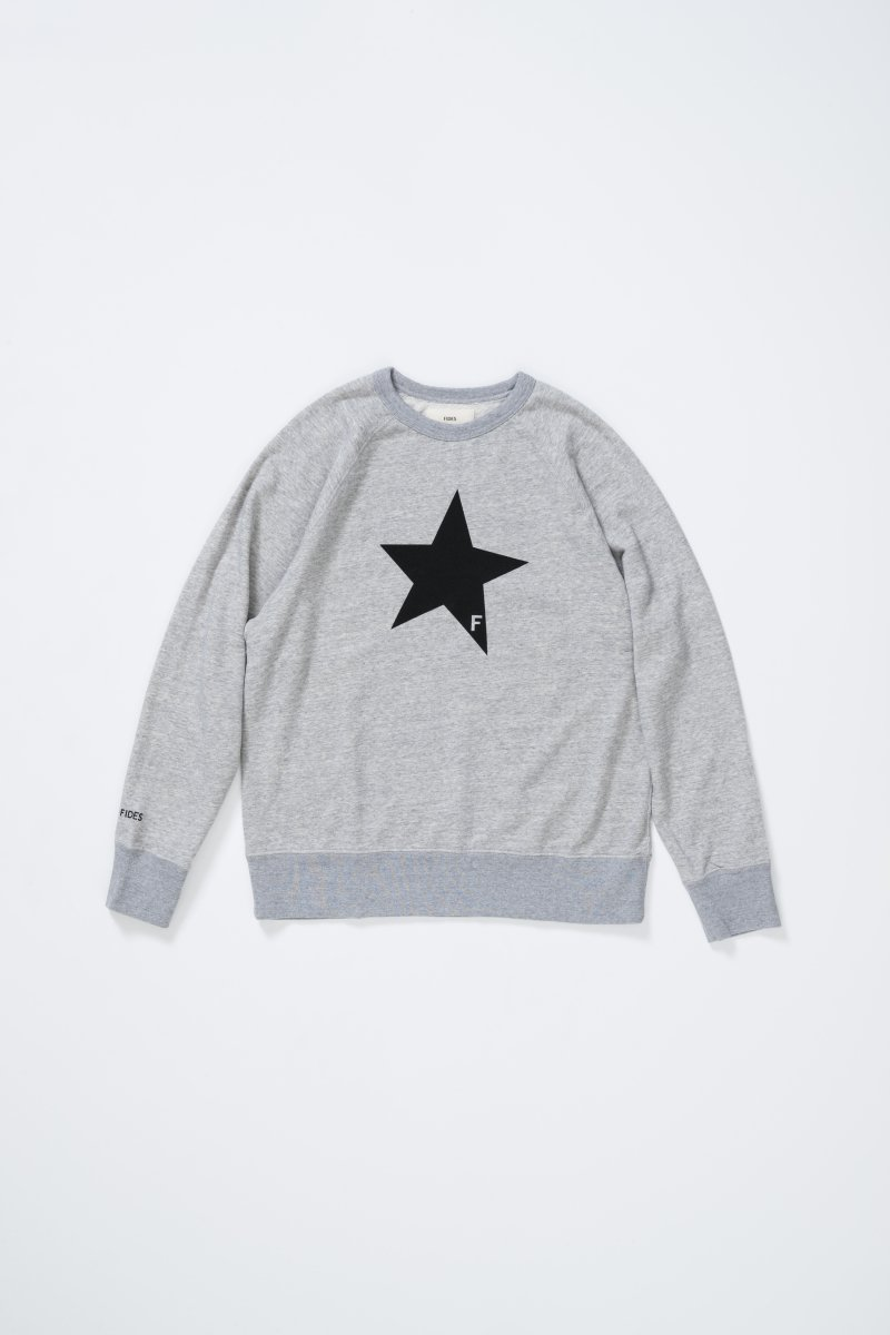 <img class='new_mark_img1' src='https://img.shop-pro.jp/img/new/icons5.gif' style='border:none;display:inline;margin:0px;padding:0px;width:auto;' />STAR CREWNECK SWEAT