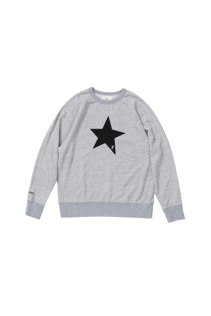 <img class='new_mark_img1' src='https://img.shop-pro.jp/img/new/icons56.gif' style='border:none;display:inline;margin:0px;padding:0px;width:auto;' />STAR CREWNECK SWEAT