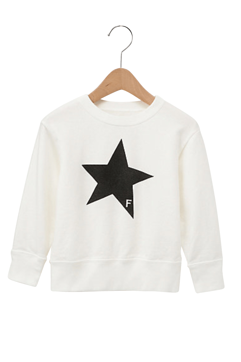 <img class='new_mark_img1' src='https://img.shop-pro.jp/img/new/icons5.gif' style='border:none;display:inline;margin:0px;padding:0px;width:auto;' />STAR CREWNECK SWEAT KIDS