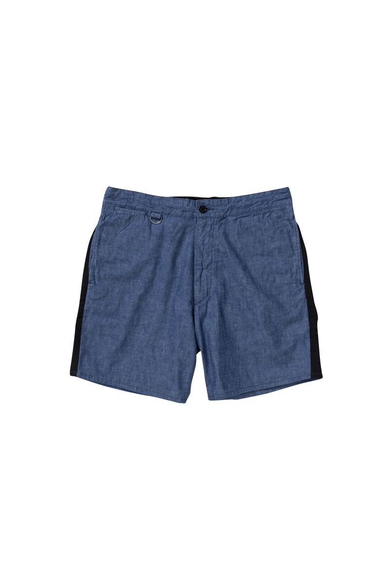 <img class='new_mark_img1' src='https://img.shop-pro.jp/img/new/icons5.gif' style='border:none;display:inline;margin:0px;padding:0px;width:auto;' />SIDELINE DENIM EASYSHORTS