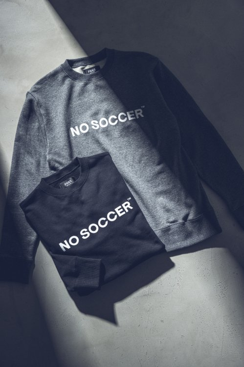 <img class='new_mark_img1' src='https://img.shop-pro.jp/img/new/icons5.gif' style='border:none;display:inline;margin:0px;padding:0px;width:auto;' />NO SOCCER CREW NECK SWAET