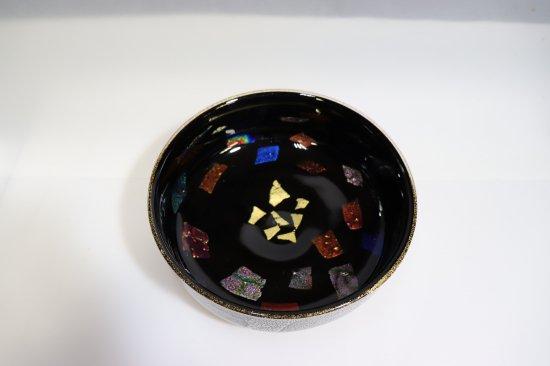 銀彩ダイクロ平鉢【画像2】