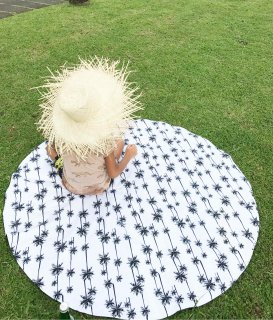 QUILTING PLAY MAT / PALM TREE