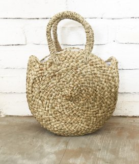 MANDALA STRAW BAG / S