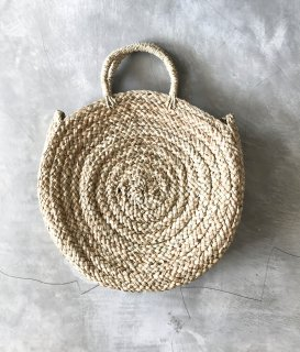 MANDALA STRAW BAG / M