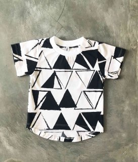 S/S Tee / TRIANGLE, BORDER