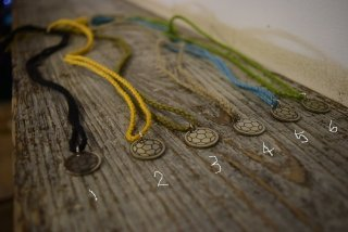 FOOTART HEMP necklace