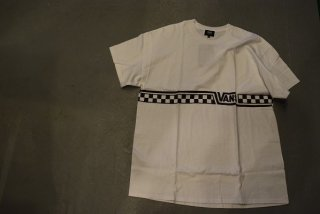 Vans×SD Checker Logo T(WHITE)