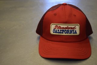 standard california / SD Logo Patch Mesh Cap(Red)