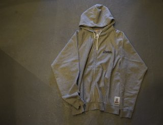standard california / SD US Cotton Zip Hood Sweat(Gray)