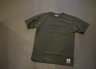 standard california / SD Heavyweight Pocket  T(OLIVE)